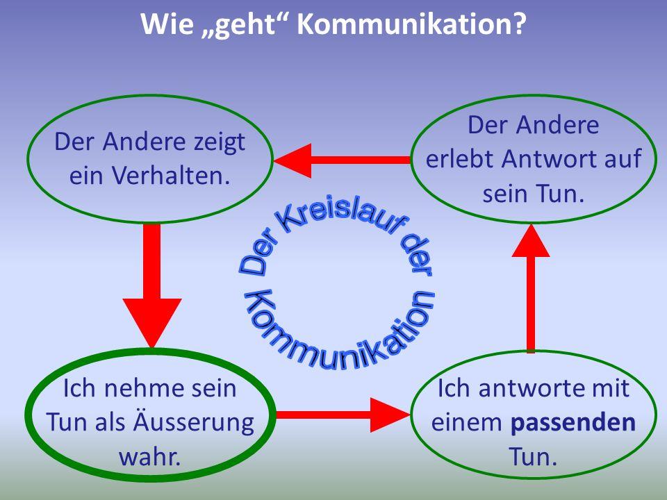 """Wie """"geht Kommunikation"""