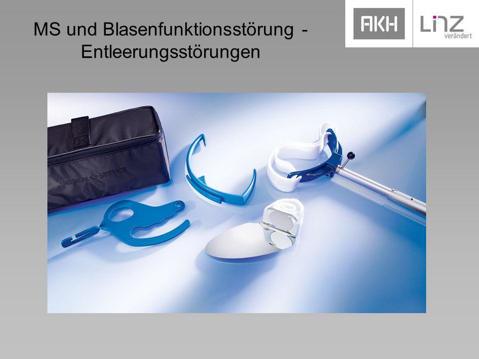 MS und Blasenfunktionsstörung - Entleerungsstörungen