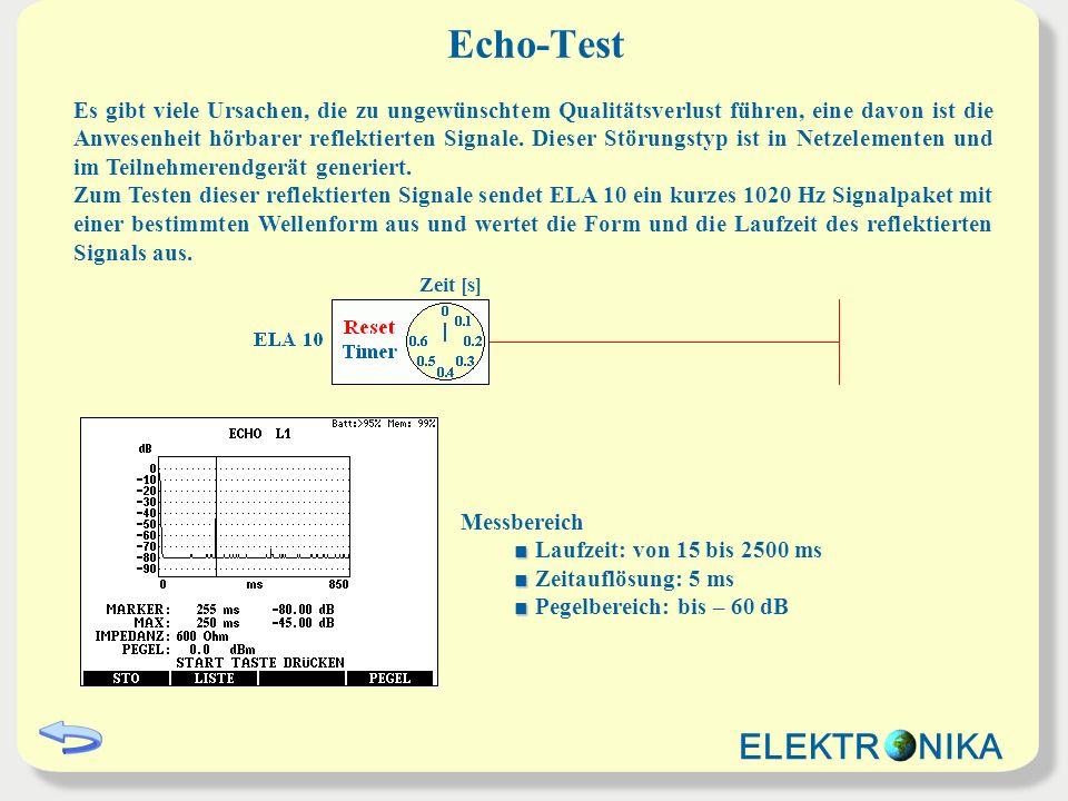 Echo-Test