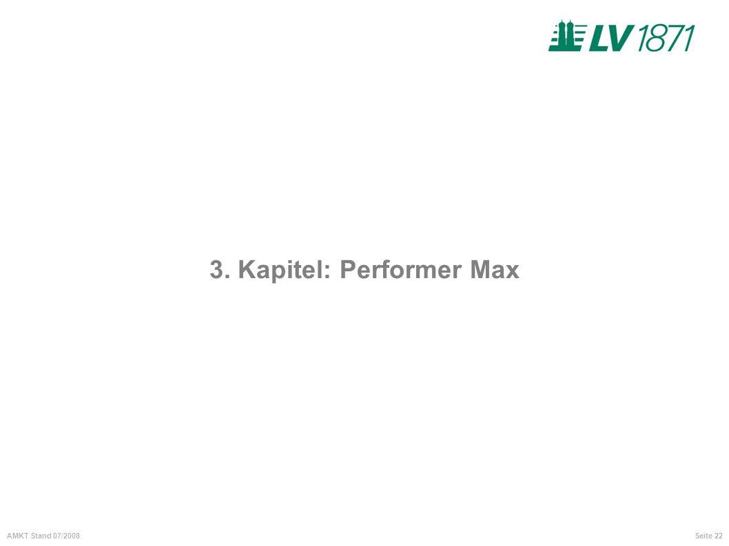 3. Kapitel: Performer Max