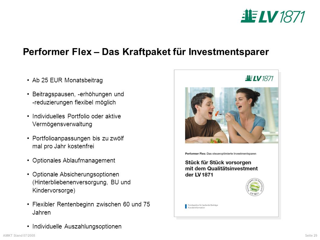 Performer Flex – Das Kraftpaket für Investmentsparer