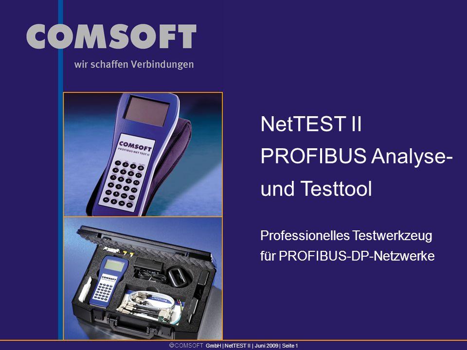 NetTEST II PROFIBUS Analyse- und Testtool