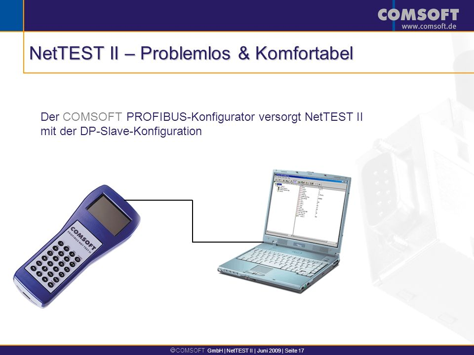 NetTEST II – Problemlos & Komfortabel