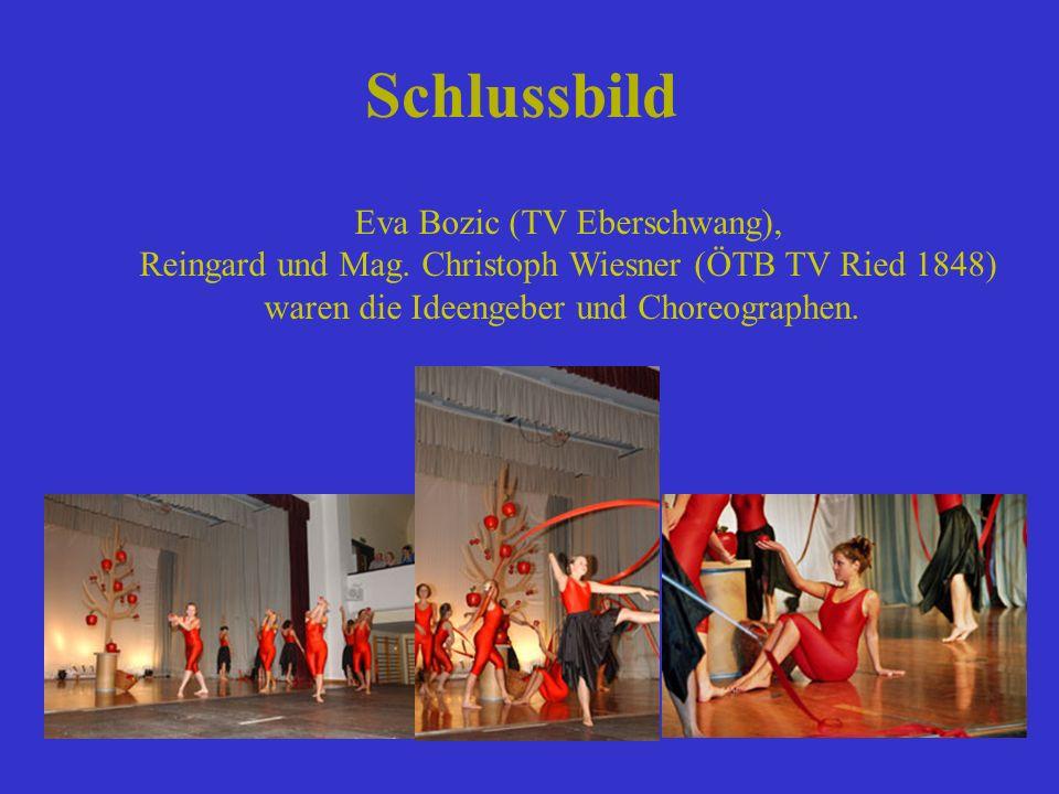 Schlussbild Eva Bozic (TV Eberschwang),