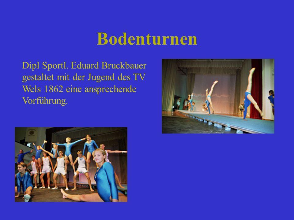 Bodenturnen Dipl Sportl. Eduard Bruckbauer