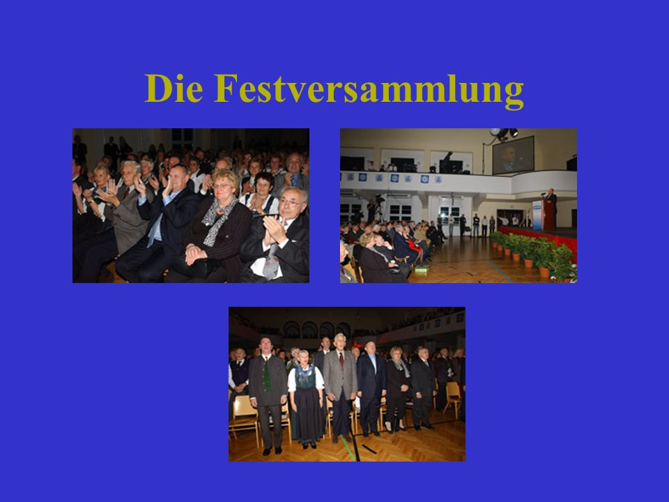 Die Festversammlung