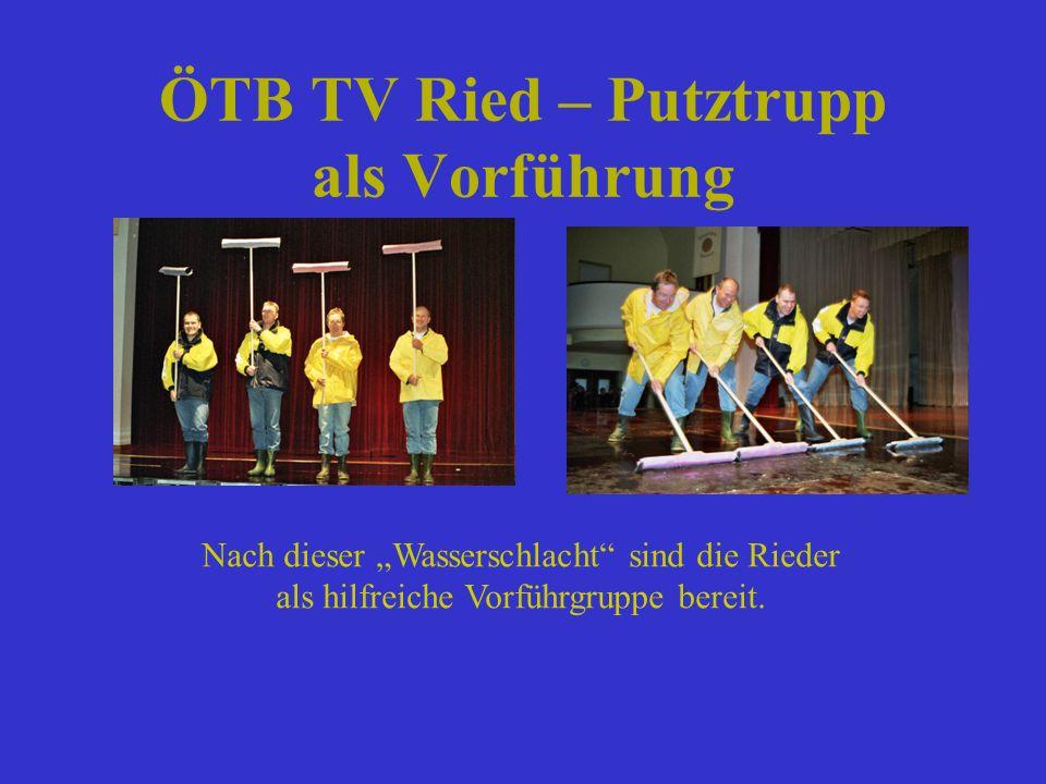 ÖTB TV Ried – Putztrupp als Vorführung