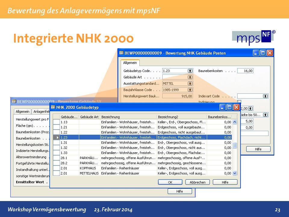 Integrierte NHK 2000