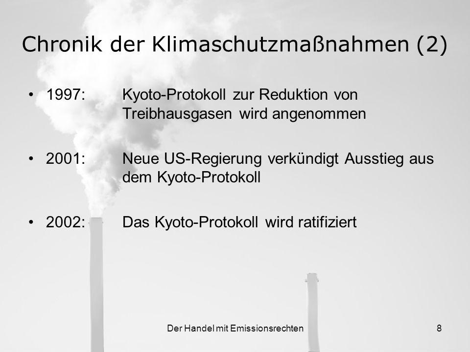Chronik der Klimaschutzmaßnahmen (2)