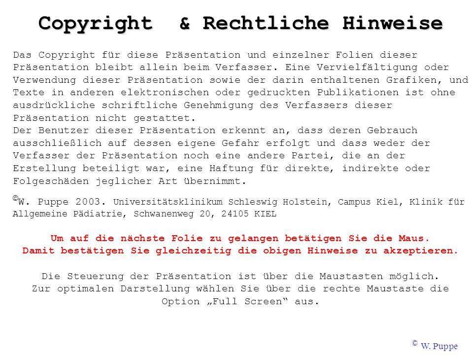 Copyright & Rechtliche Hinweise