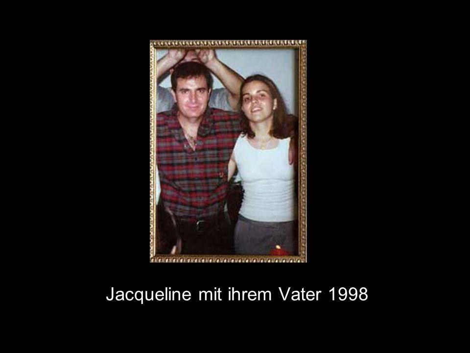 Jacqueline mit ihrem Vater 1998