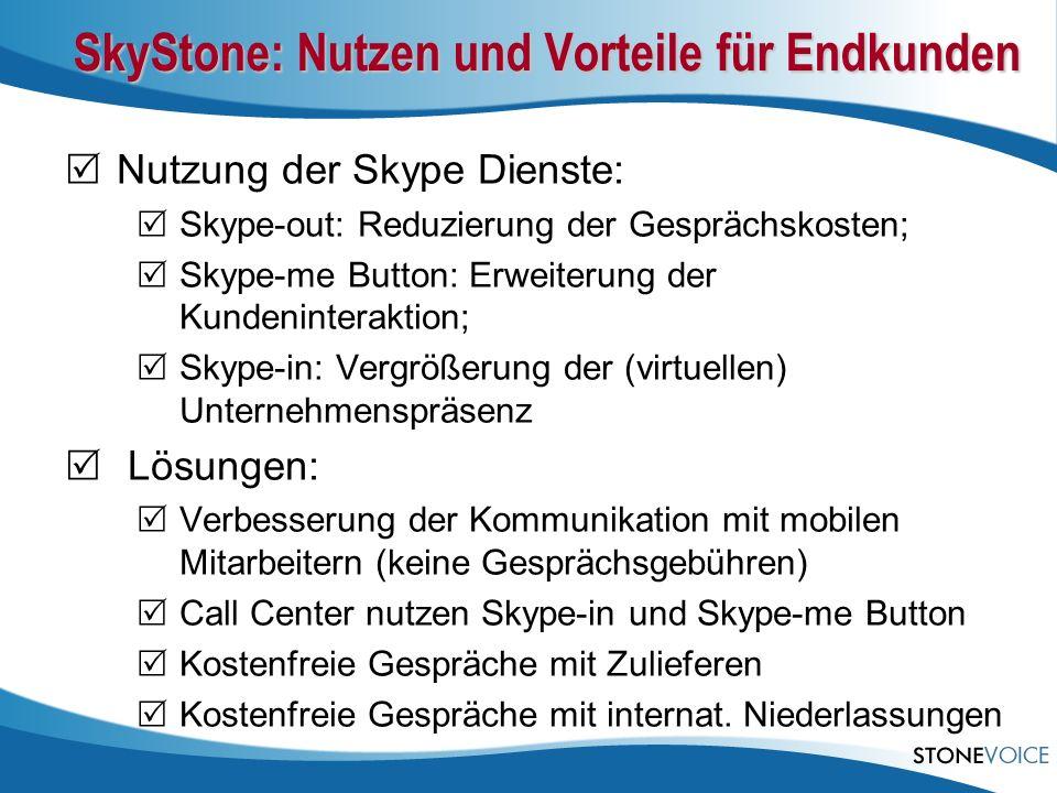 SkyStone: Nutzen und Vorteile für Endkunden