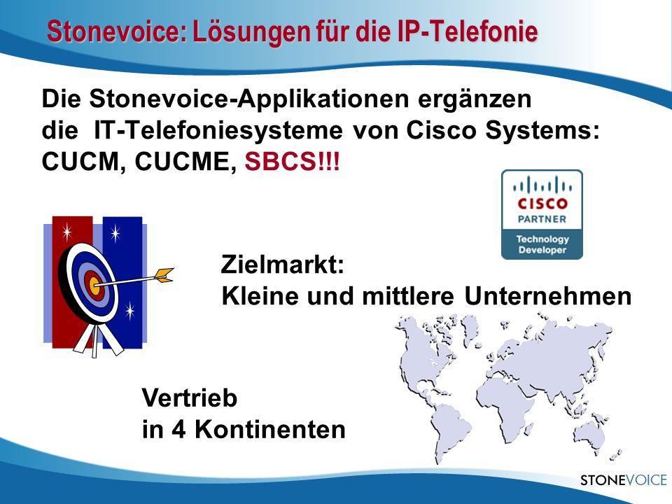 Stonevoice: Lösungen für die IP-Telefonie