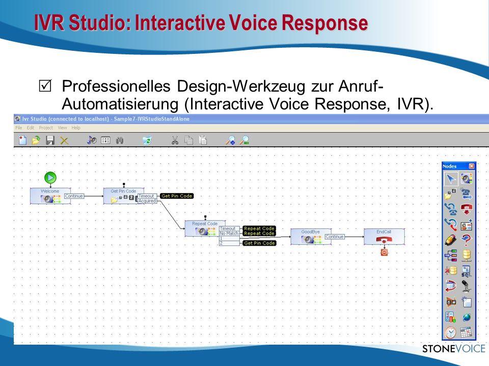 IVR Studio: Interactive Voice Response