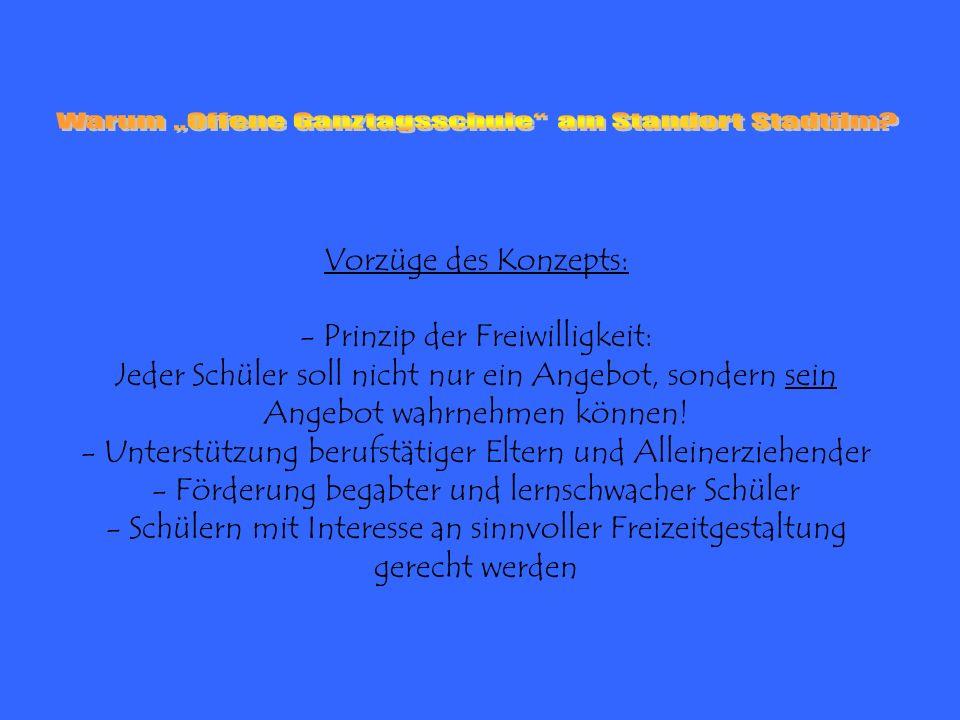 """Warum """"Offene Ganztagsschule am Standort Stadtilm"""