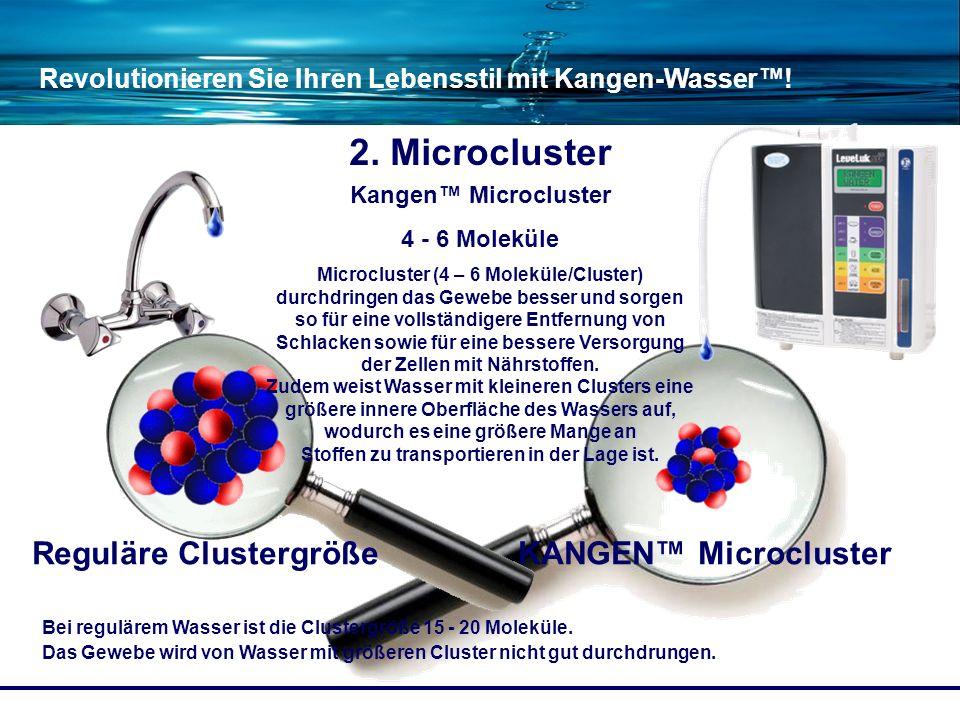 Reguläre Clustergröße KANGEN™ Microcluster