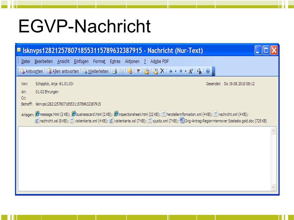 EGVP-Nachricht