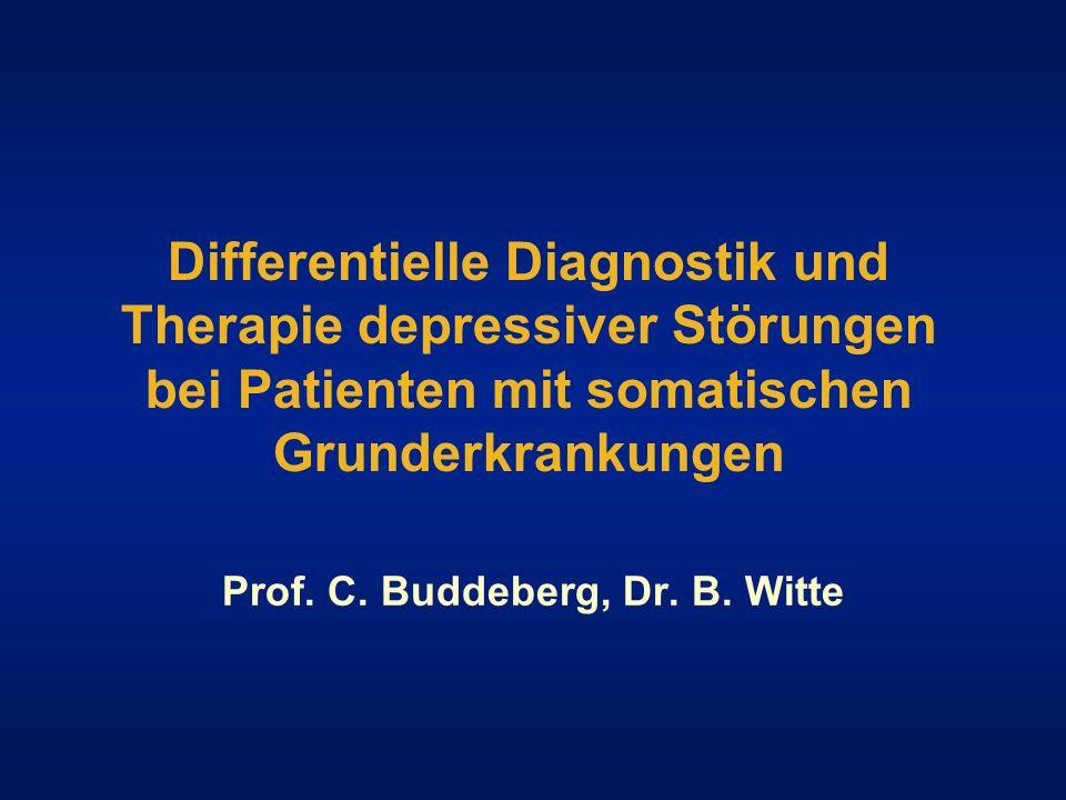 Prof. C. Buddeberg, Dr. B. Witte