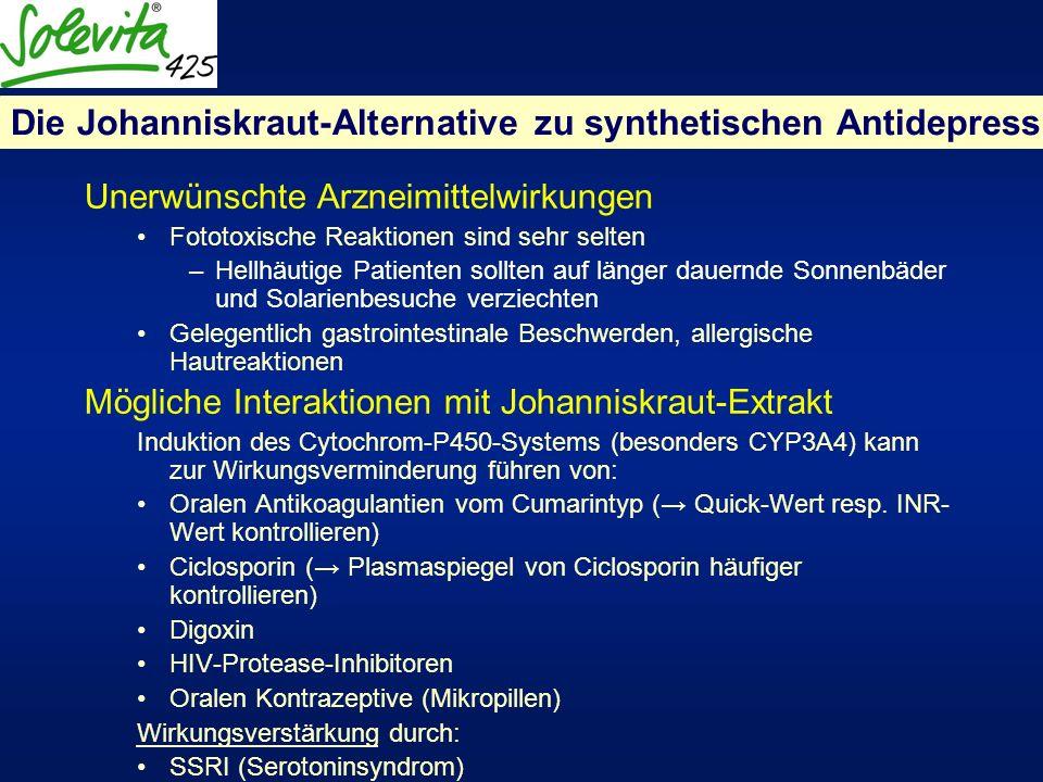 Die Johanniskraut-Alternative zu synthetischen Antidepressiva