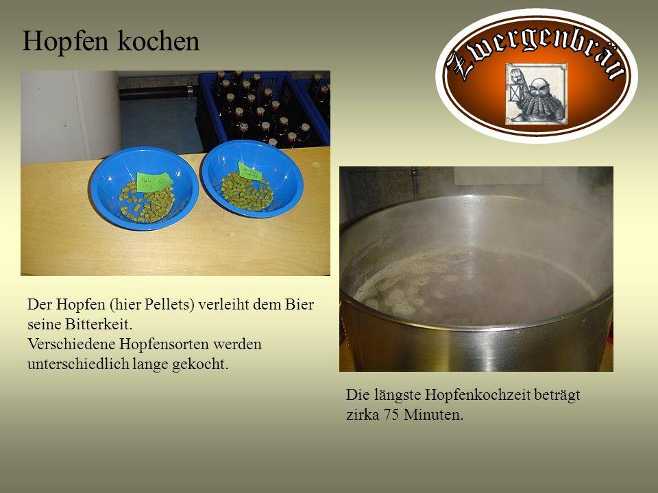 Hopfen kochen Zwergenbräu