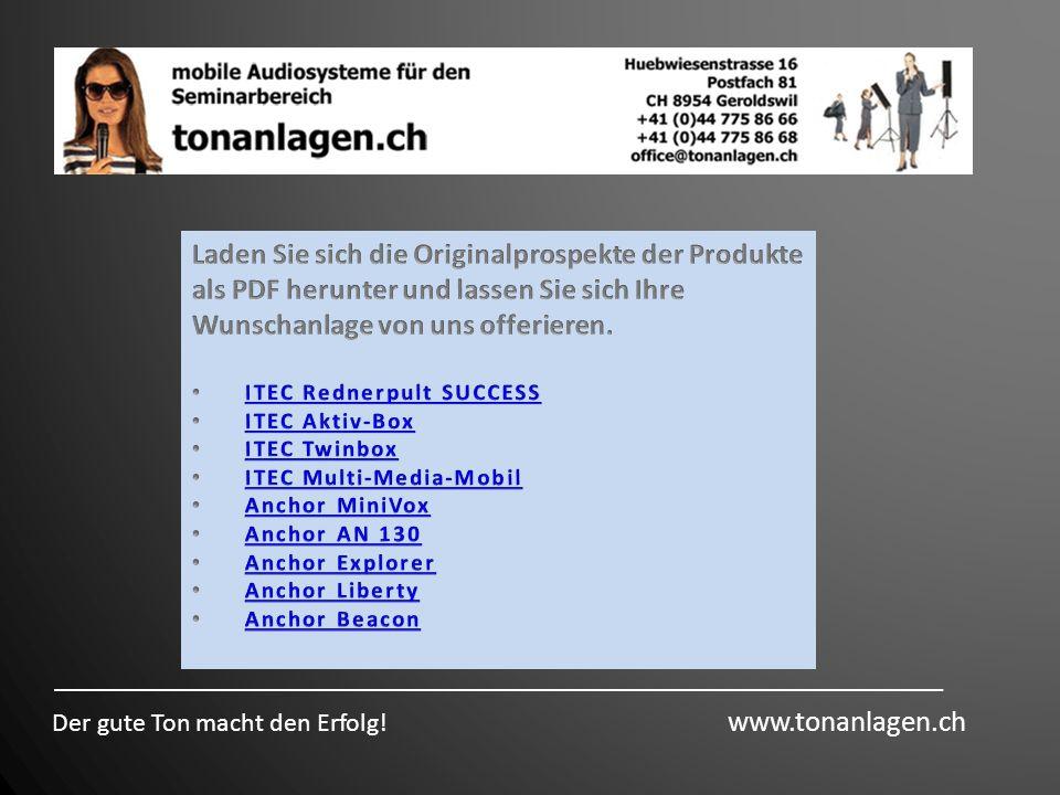 Laden Sie sich die Originalprospekte der Produkte als PDF herunter und lassen Sie sich Ihre Wunschanlage von uns offerieren.