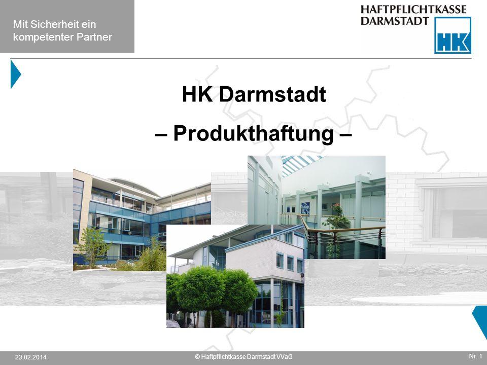 © Haftpflichtkasse Darmstadt VVaG