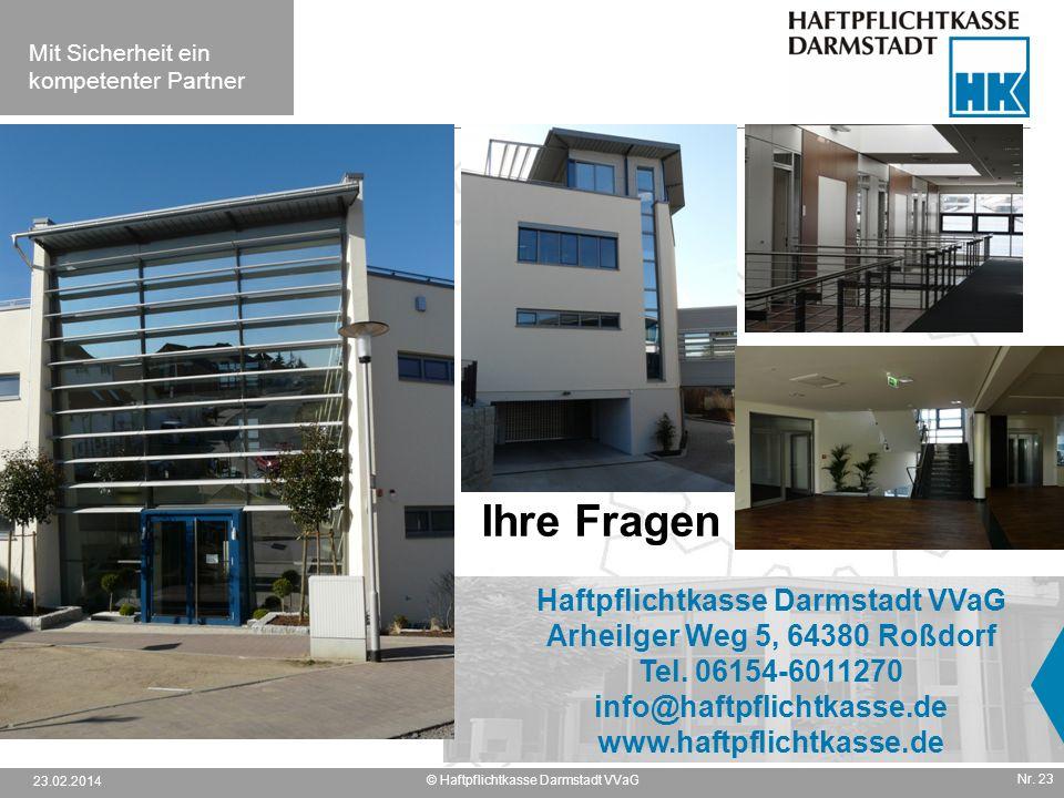 Haftpflichtkasse Darmstadt VVaG