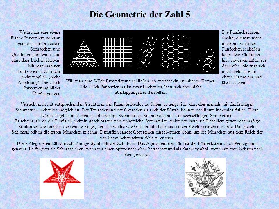 Die Geometrie der Zahl 5