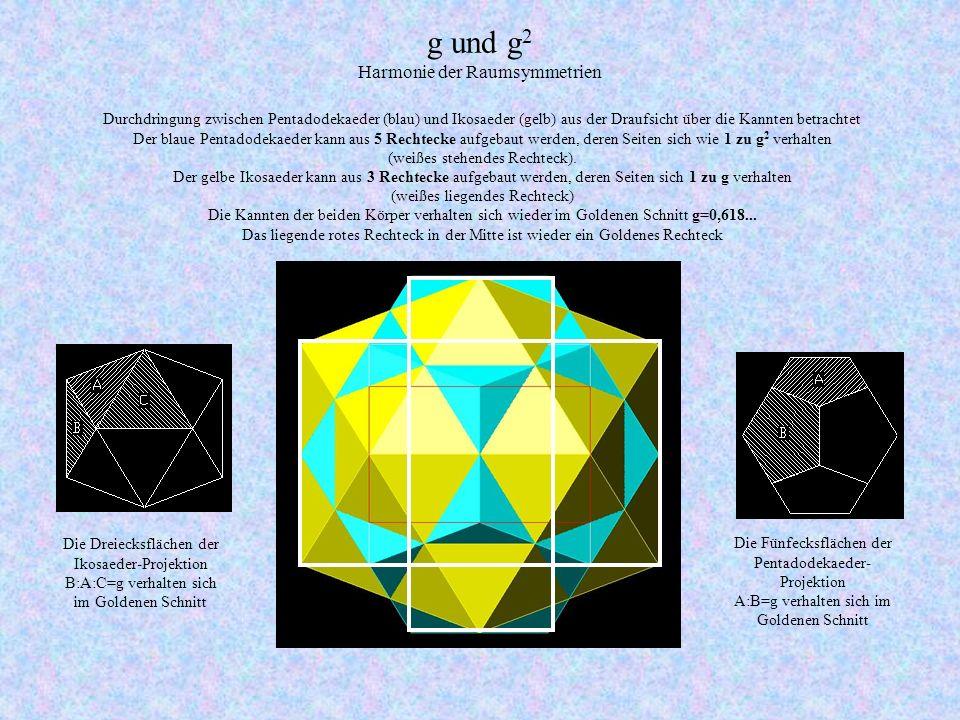 g und g2 Harmonie der Raumsymmetrien