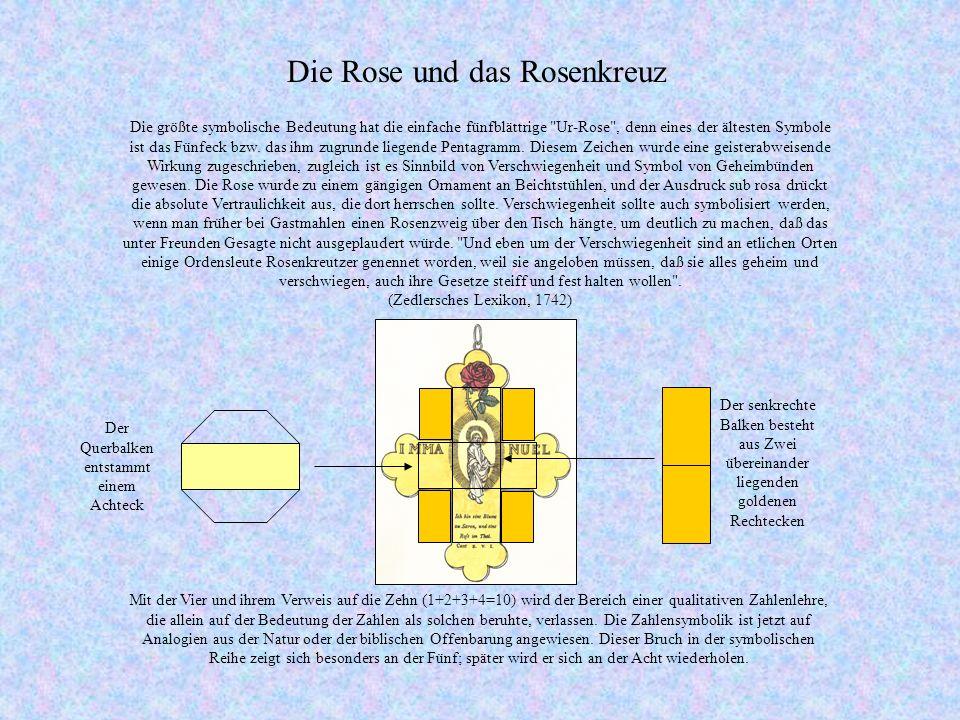 Die Rose und das Rosenkreuz