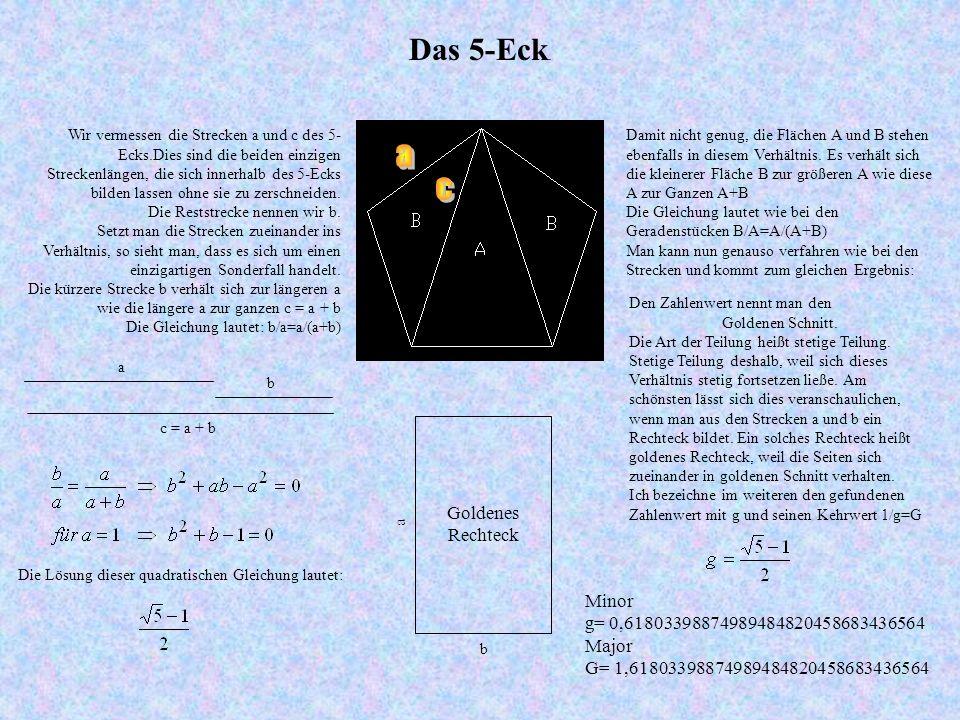 Die Lösung dieser quadratischen Gleichung lautet:
