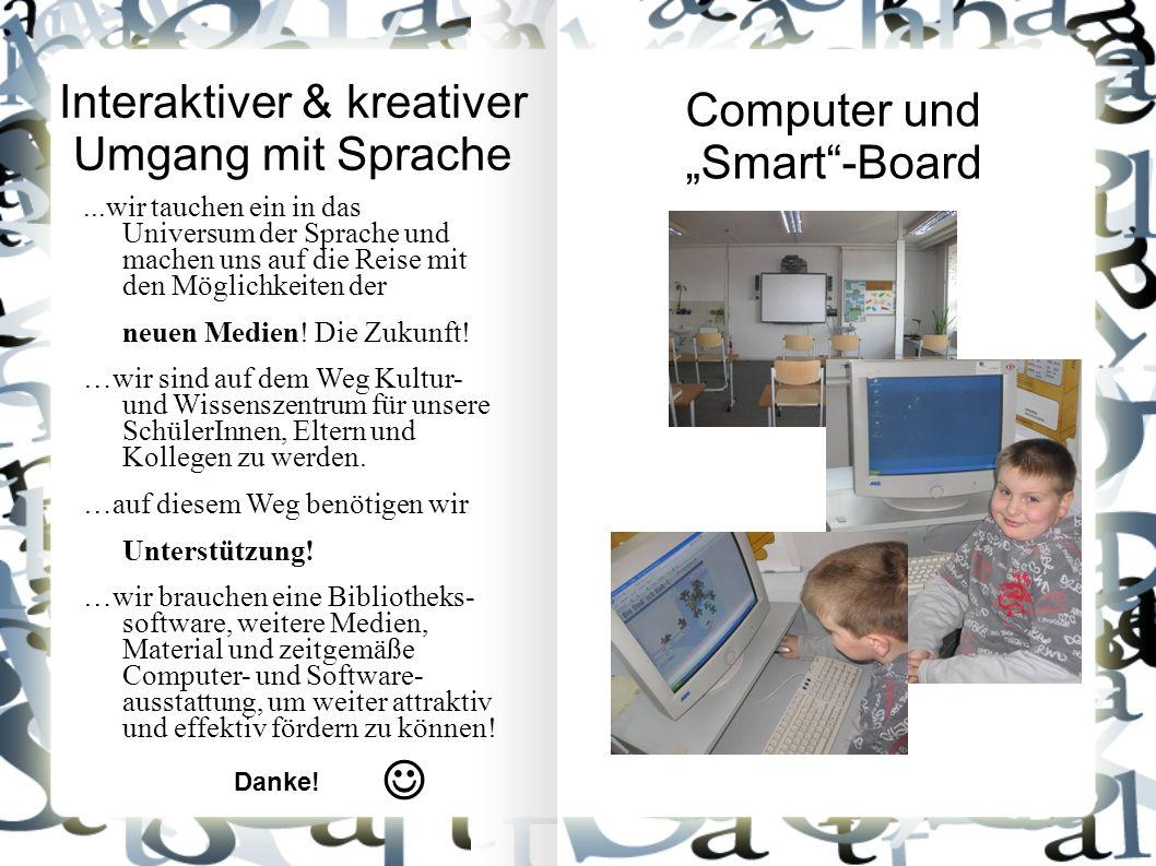 Interaktiver & kreativer Umgang mit Sprache