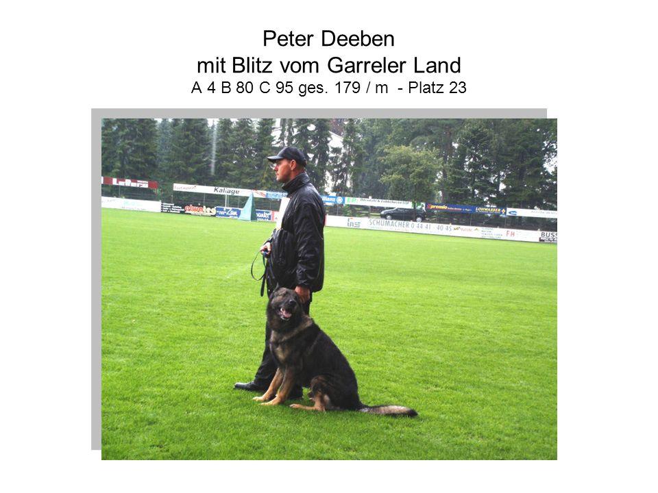 Peter Deeben mit Blitz vom Garreler Land A 4 B 80 C 95 ges