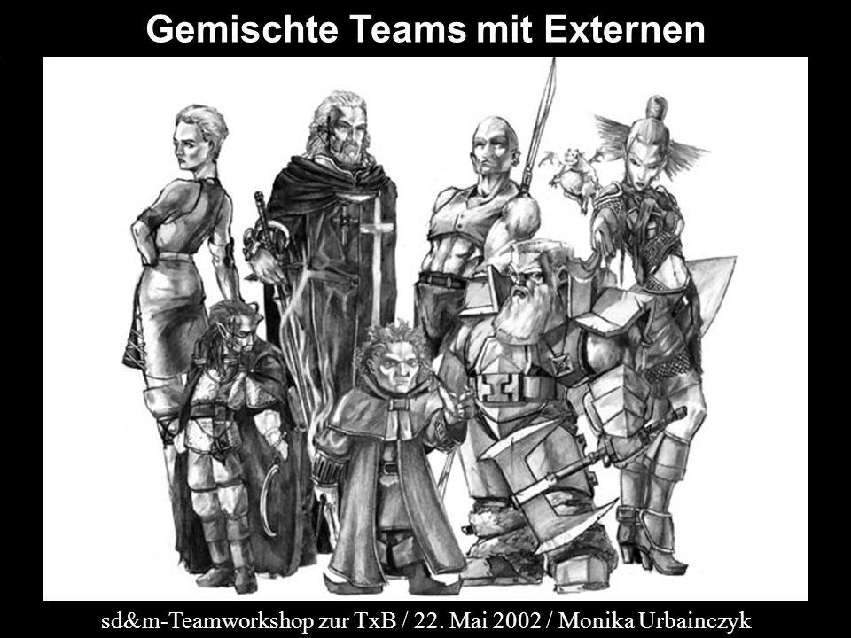 Gemischte Teams mit Externen