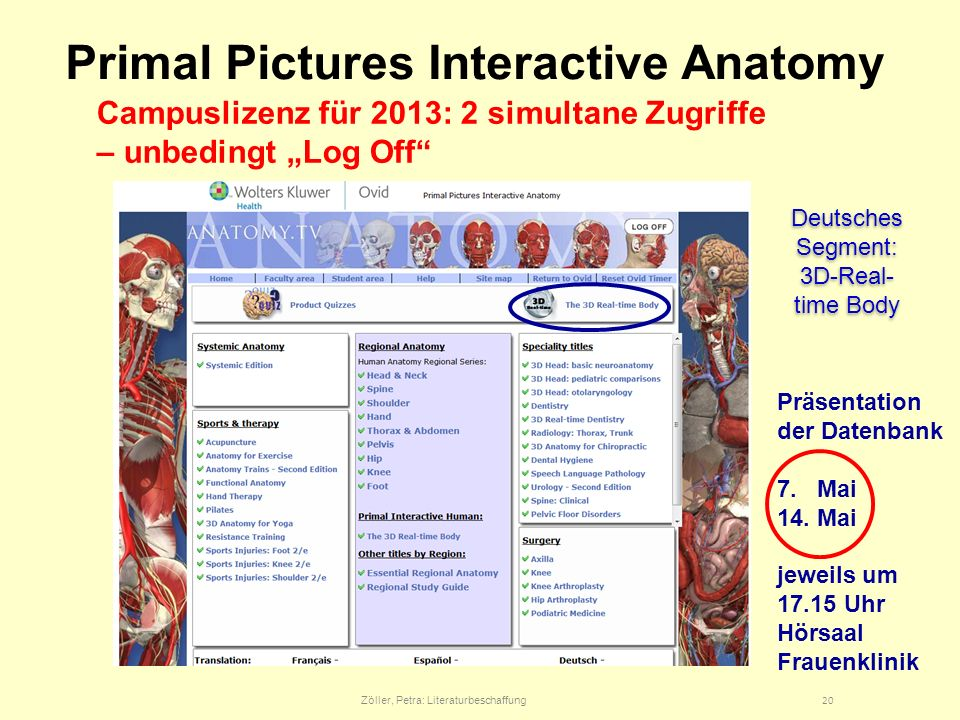 Primal Pictures Interactive Anatomy