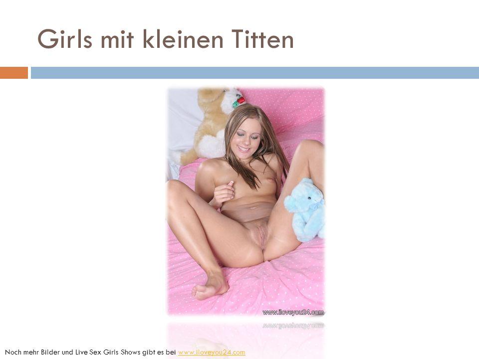 Girls mit kleinen Titten