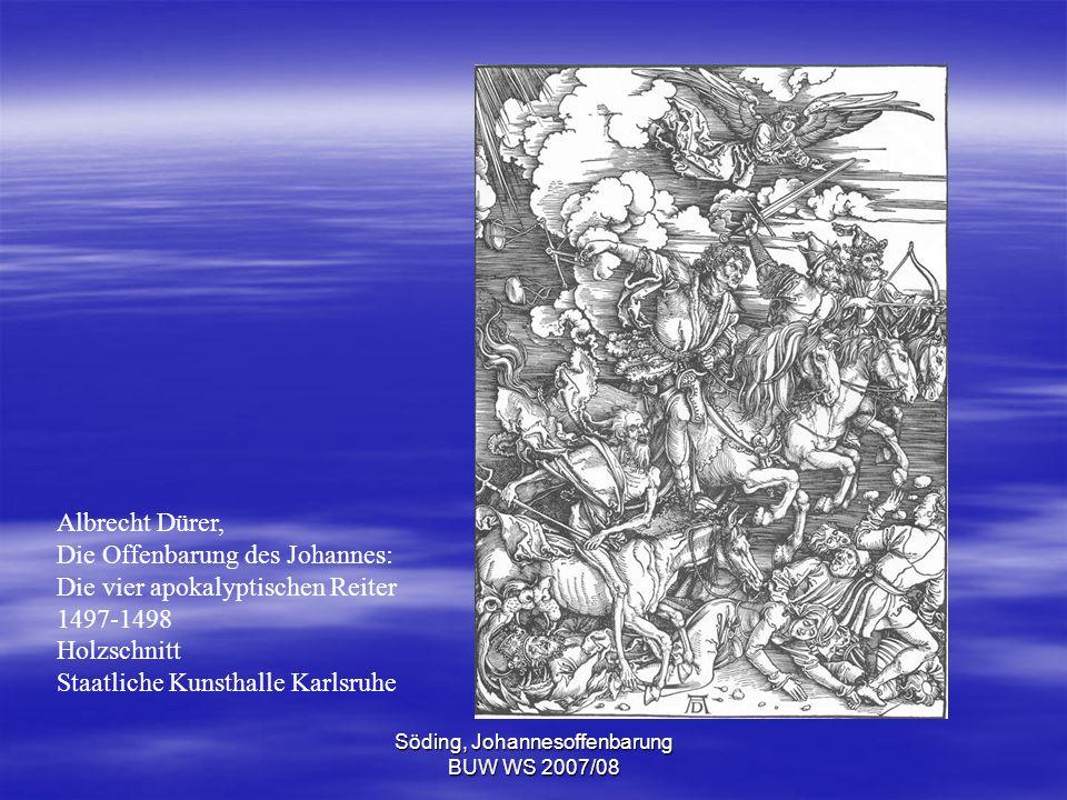 Söding, Johannesoffenbarung BUW WS 2007/08