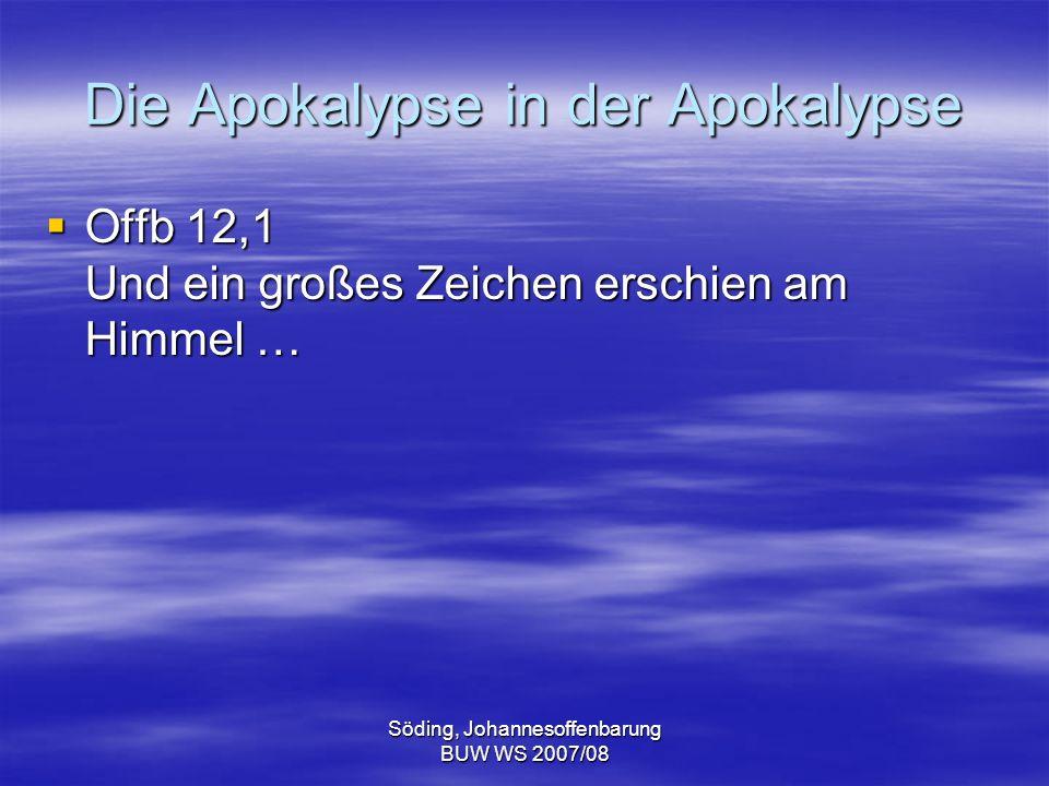 Die Apokalypse in der Apokalypse