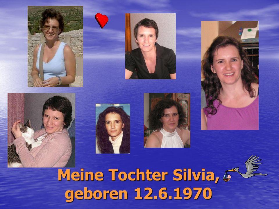 Meine Tochter Silvia, geboren 12.6.1970