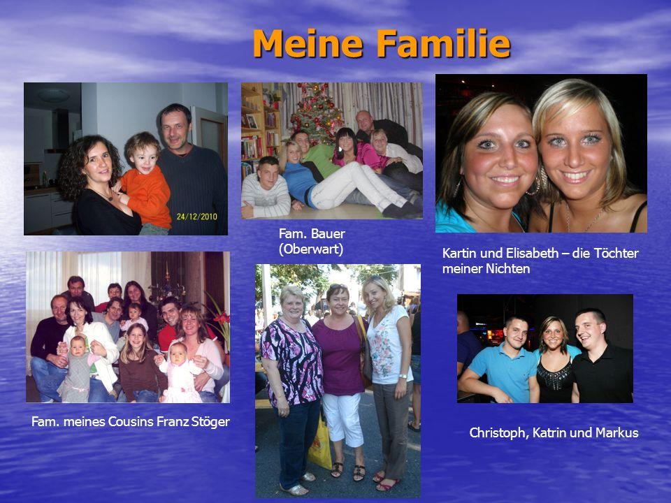 Meine Familie Fam. Bauer (Oberwart)