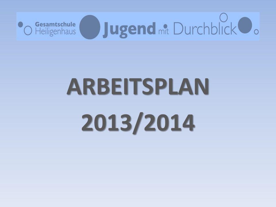 ARBEITSPLAN 2013/2014