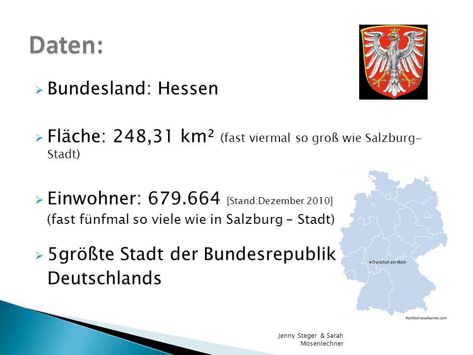 Daten: Bundesland: Hessen