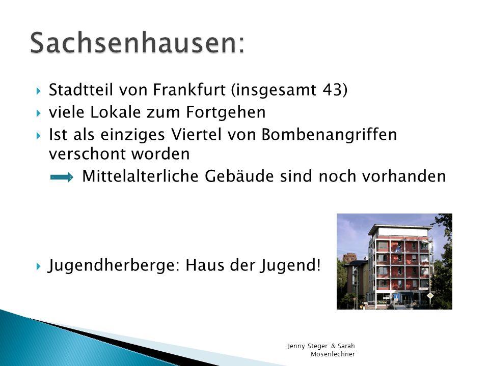 Sachsenhausen: Stadtteil von Frankfurt (insgesamt 43)