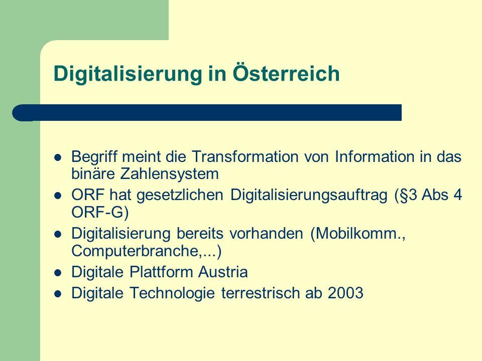 Digitalisierung in Österreich