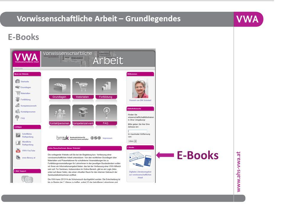 E-Books E-Books