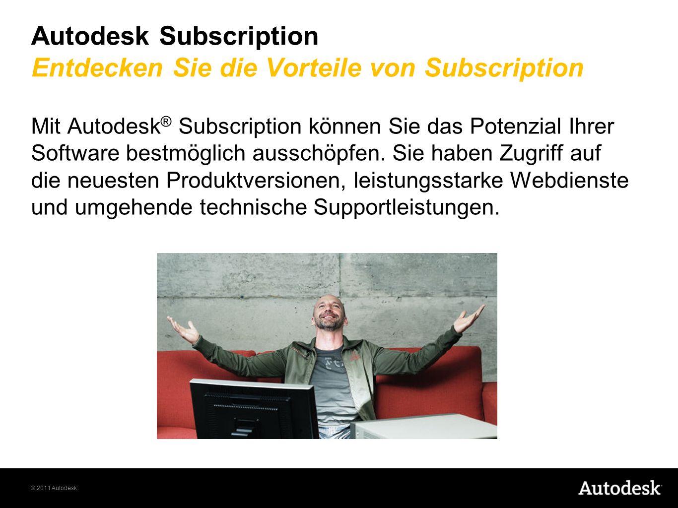Autodesk Subscription Entdecken Sie die Vorteile von Subscription