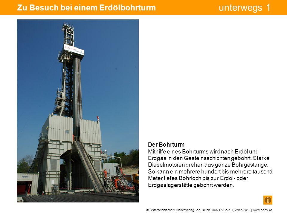 Zu Besuch bei einem Erdölbohrturm