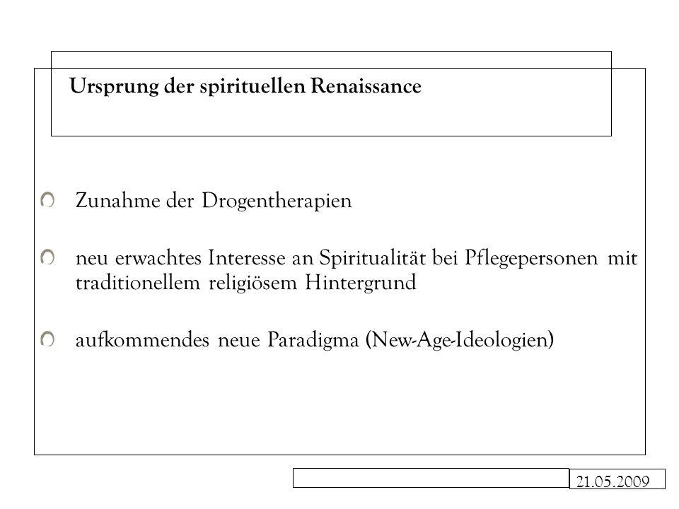 Ursprung der spirituellen Renaissance