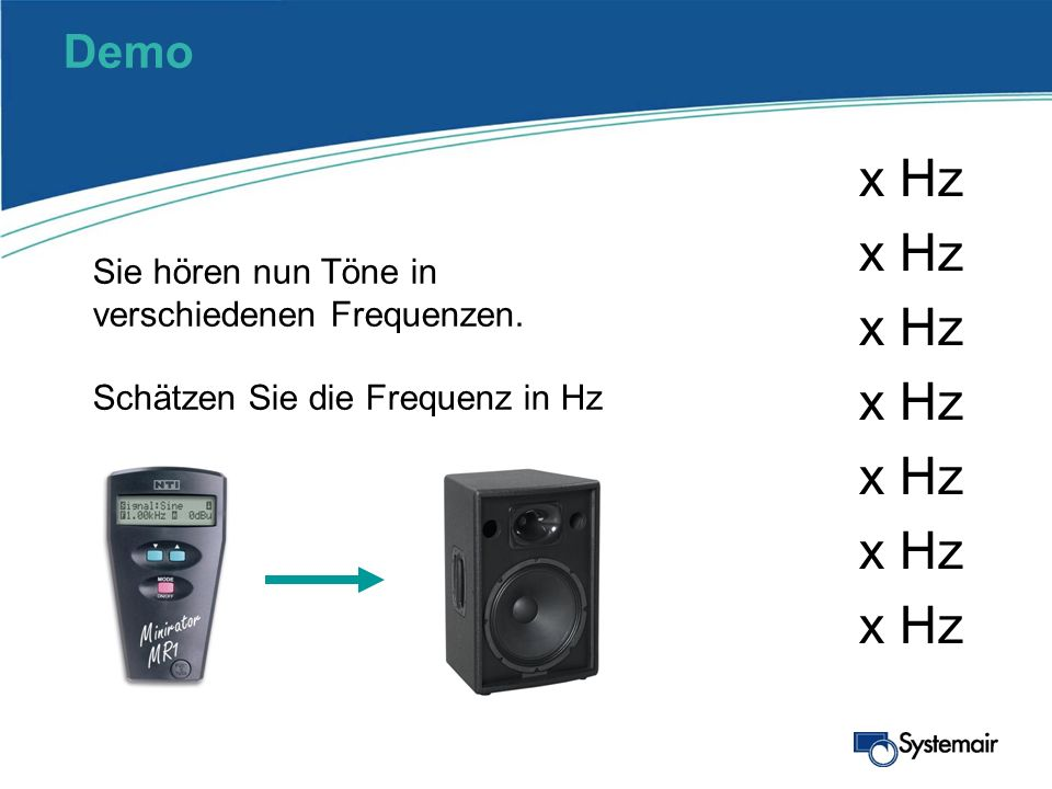 x Hz x Hz x Hz x Hz x Hz x Hz x Hz Demo
