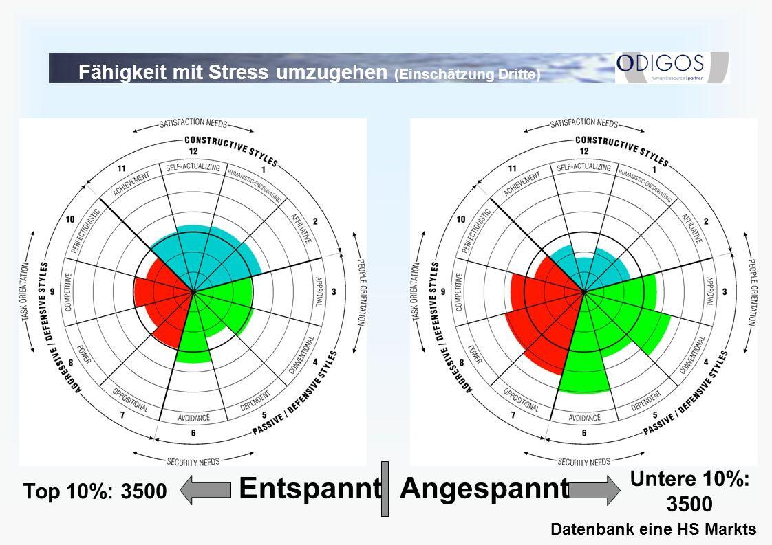 Fähigkeit mit Stress umzugehen (Einschätzung Dritte)